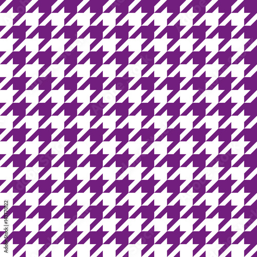 Photo  Seamless houndstooth pattern. Vector image.