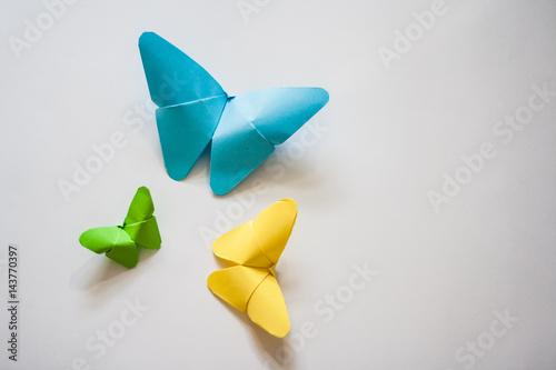 Fototapeta Paper origami