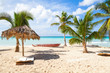 Saona island beach, touristic resort