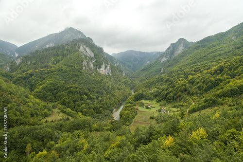 Foto op Plexiglas China Montenegro. Durmitor National Park. Tara River Canyon