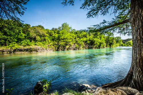 Foto op Canvas Texas Guadalupe River New Braunfels, Texas