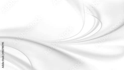 Fotobehang Abstract wave abstract white background