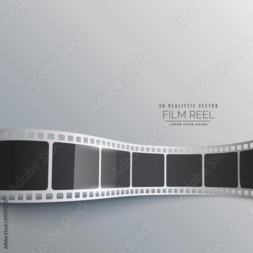 3d Film Strip Vector Background Design Kaufen Sie Diese
