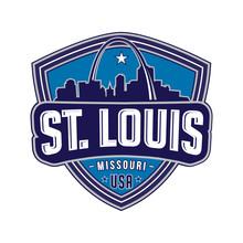 St. Louis. Vector Design Templ...