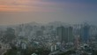 Panorama of Seoul city, Korea
