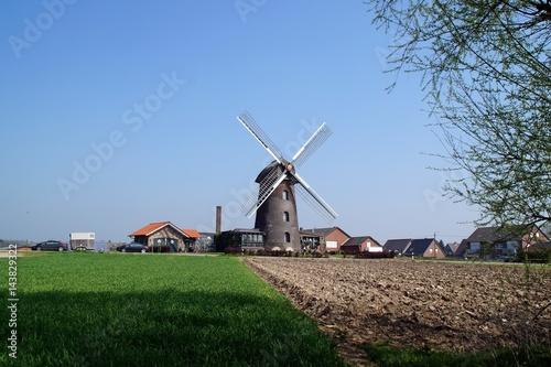 Poster Molens Turmwindmühle im Isselburger Ortsteil Vehlingen