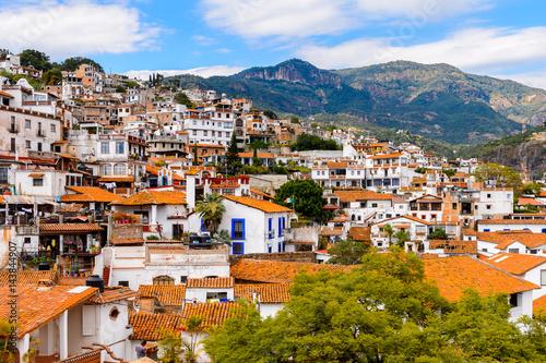 Fotografija  Panorama of Taxco, Mexico