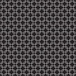 Seamless vintage interlocking square pattern