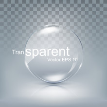 Modern Transparent Circle Lens...