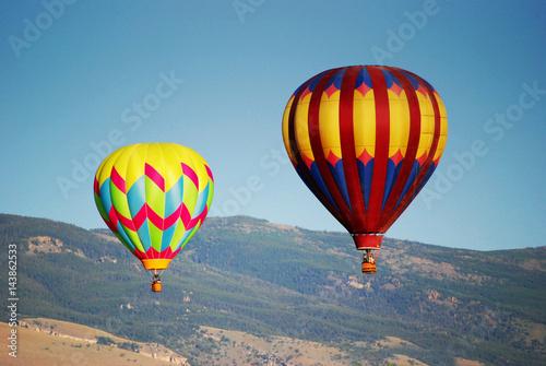 Plakat Podwójne balony