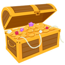 Coins In The Trunk Free Stock Photo - Public Domain Pictures
