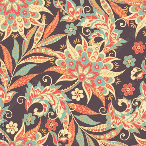 wzor-ludowy-kwiaty-ornament-etniczne-kwiatowy-wektor
