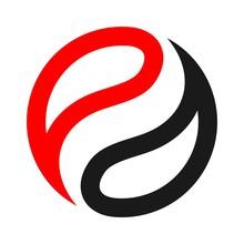 Balance Logo Vector. Ball Logo.