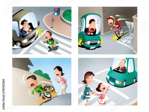 交通ルールと子供、子供の交通ルール