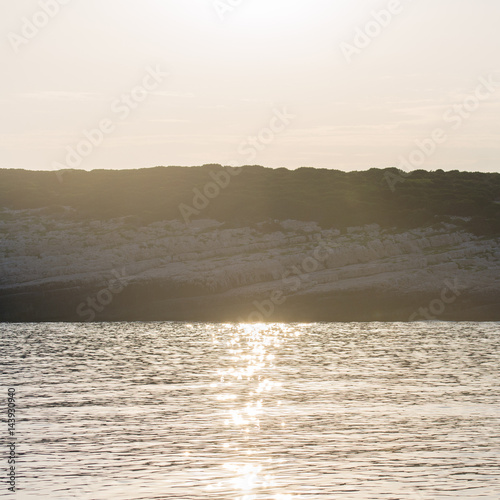 Fotografie, Obraz  Sundown on Vis