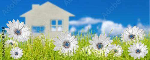 Photo Rêve d'une maison à la campagne
