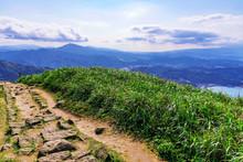 Jilong Mountain Path In Jiufen