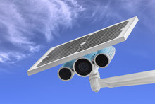 Surveillance Camera With Solar...