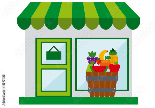Fruit Stand and Grocery Store Logo. Buy this stock ... Grocery Store Logos Free