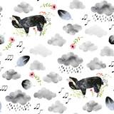 Watercolor seamless pattern - 143976501
