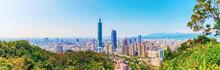 Panoramic Scenic View Of Taipei