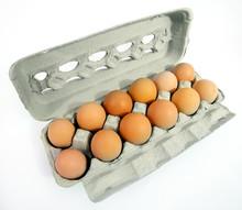 One Dozen Free Range Brown Egg...