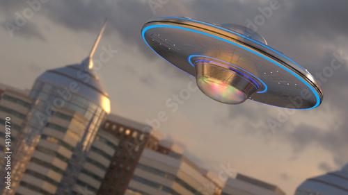Foto op Plexiglas UFO Vintage UFO