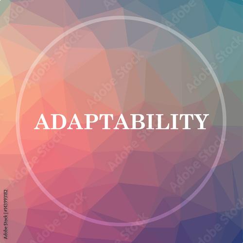 Obraz na plátne Adaptability icon