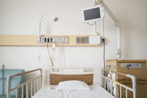Fotografie, Obraz  病院の個室