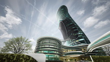 Exterior Curved Luxury Hotel D...