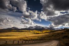 Colorado's Mount Wilson At Autumn