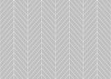 Edytowalne bez szwu geometryczny wzór płytki z linii w jodełkę w kolorze szarym tle - 144014934