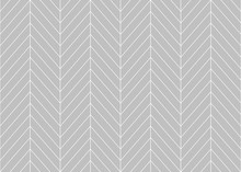 Editable Seamless Geometric Pattern Tile With Herringbone Line Art In Grey Color Background