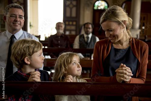 Fotografija  Church People Believe Faith Religious