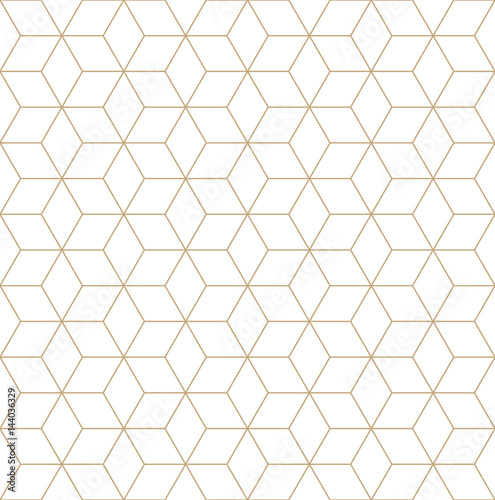 Photographie  sacred geometry grid graphic deco hexagon pattern
