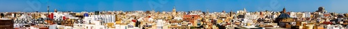 Foto op Canvas Barcelona Aerial Panoramic View Of Valencia City In Spain