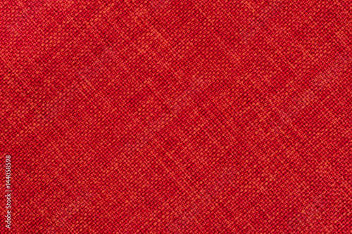 Aluminium Prints Fabric Red cloth background.