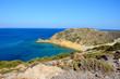 Hügeliger Meerblick auf Kreta