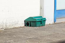 Poison Rat Trap Box On Floor N...