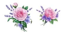 Rose & Lavender 1