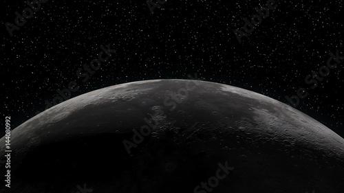 Fotografie, Obraz  Close up of the Moon