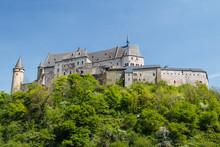 Medieval Castle In Vianden, Luxembourg