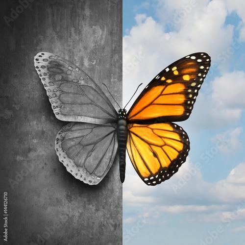 Vászonkép Bipolar Mental Disorder