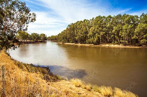 Foto auf Leinwand Ozeanien Am Murrumbidgee River bei Narrandera Noth South Wales Australien