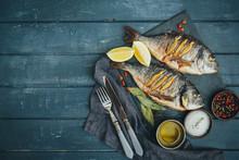 Roasted Gilthead Fish