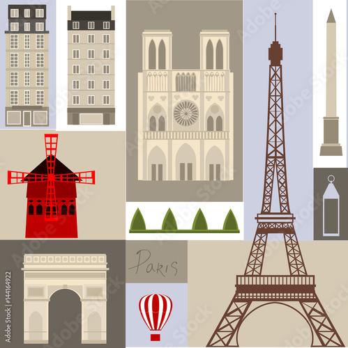 Photo  Paris illustration