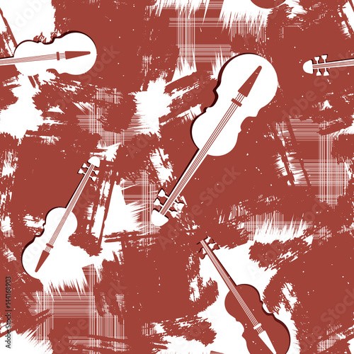 seamless-pattern-with-violins-vector
