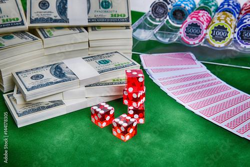 Gambling concept плакат