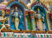 The Sri Krishnan Temple In Singapore Is A Beautiful Hindu Place Of Worship On Waterloo Street