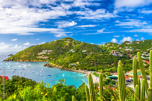 Photo sur Toile Caraibes St. Bart's Island in the Caribbean